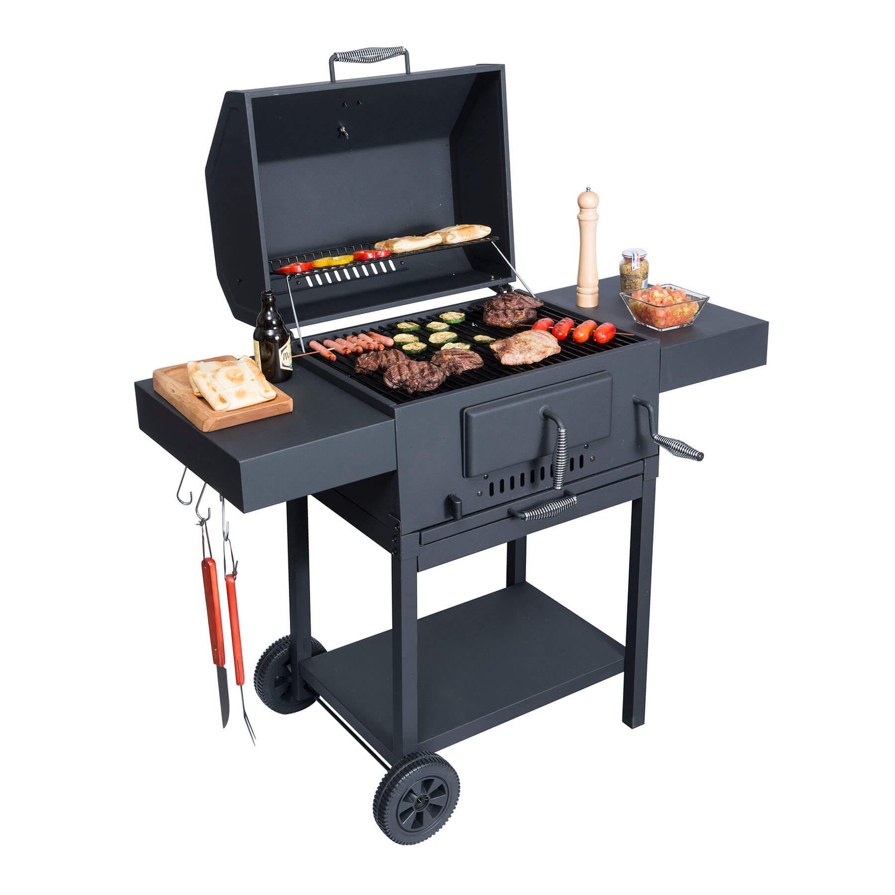 Parrilla a carb n tennessee bbq grill - Parrillas para asar carne ...
